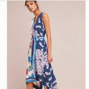 Botanical Dress Mauve by Anthropologie